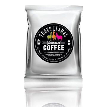 Picture of Three Llamas Gourmet Plunger Coffee 15g