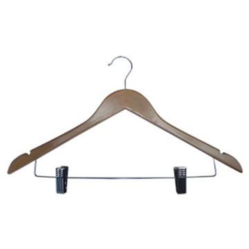 Picture of Coat Hanger - Wooden Skirt Clip with Notches