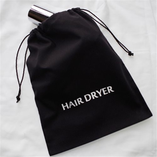 Picture of Hair Dryer Cotton Drawstring Bag