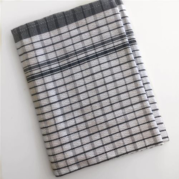 Picture of Fast Dry Tea Towel - Black / White