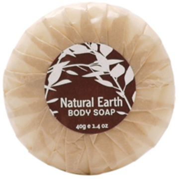 Picture of Natural Earth - 40gm Pleat Wrapped Soap