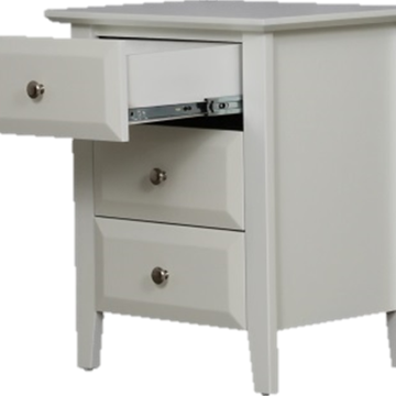 Picture of Tucson 3 Drawer Bedside Cabinet 620x520x400