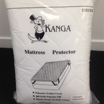 Picture of Kanga Super King Quilted Mattress Protector
