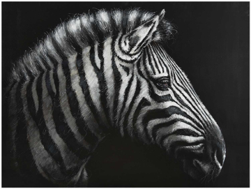 Picture of Real Zebra Canvas Art