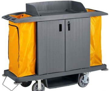 Picture of Housekeeping trolley DELUXE with doors