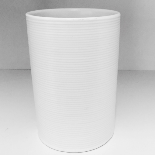 Picture of White Ceramic Amenity Canister