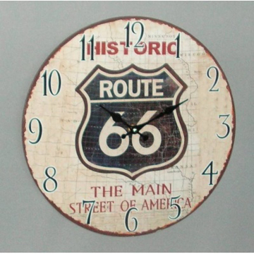 Picture of Route 66 Clock