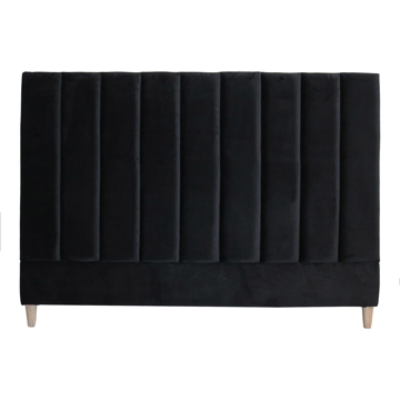 Picture of Penelope Velvet Headboard - Black
