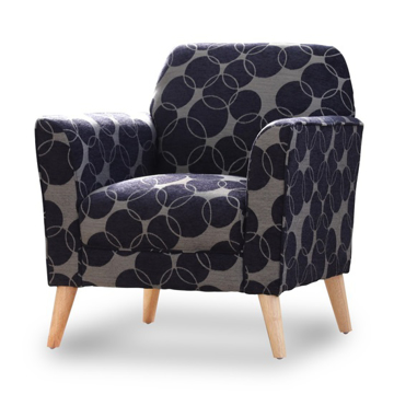 Picture of Alice Chair - Black Circles