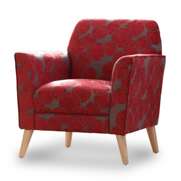 Picture of Alice Chair - Red Circles