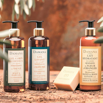 Picture of Damana 300ml Body & Hair Gel