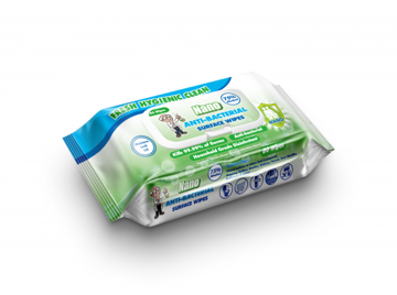 Picture of Nano Alcohol Wipes 75% Alcohol - (Pack 80)