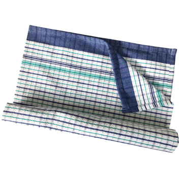 Picture of Heritage Tea Towel - Blue/Green