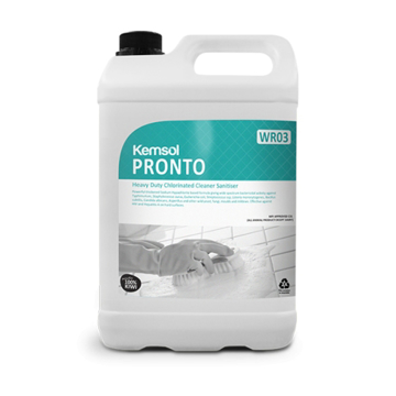 Picture of Pronto Heavy-Duty Chlorinated Cleaner Sanitiser (5LTR)